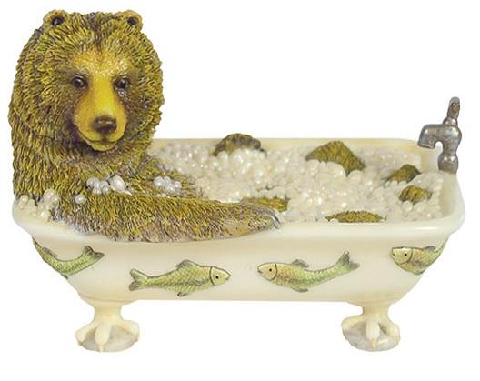 Wildlife bathroom soap dish