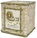 Wildlife bathroom tissue box holder