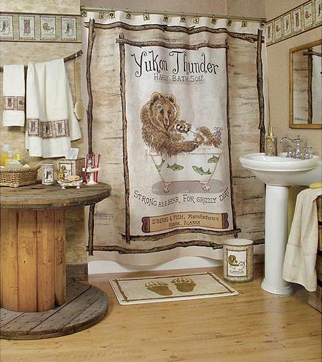 Wildlife Bathroom Accessories Room Shot