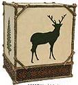 Moose Cabin designer trash can