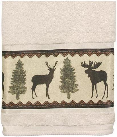 Moose Cabin  bathroom Bathroom Bath Towels