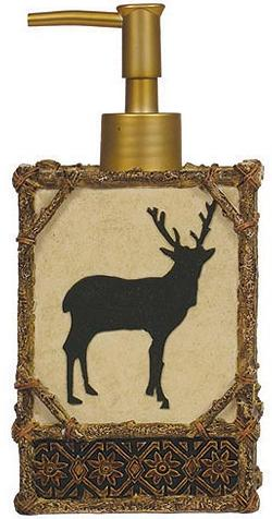 Moose Cabin  bathroom Soap/Lotion Dispenser Pump