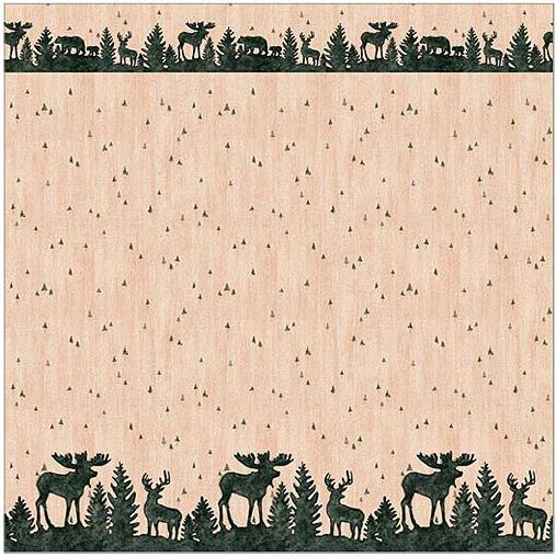 Moose Lodge  bathroom Shower Curtain