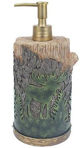 Moose Lodge  bathroom Soap/Lotion Dispenser Pump