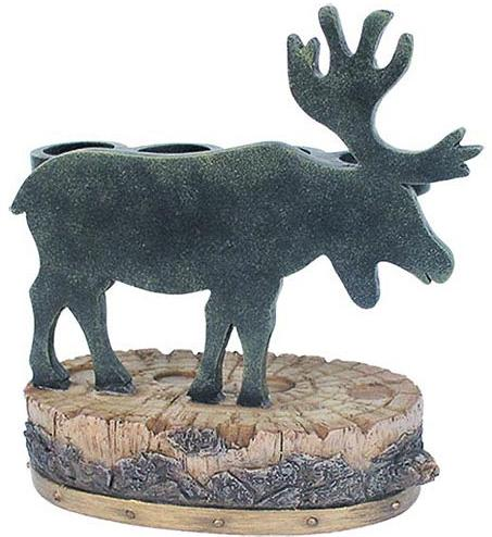 Moose Lodge  bathroom Toothbrush Holder