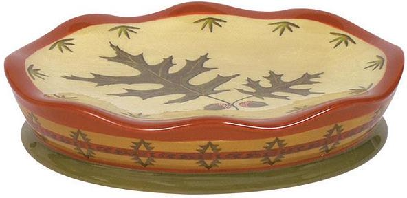 Oak Leaf  bathroom Bathroom Soap Dish