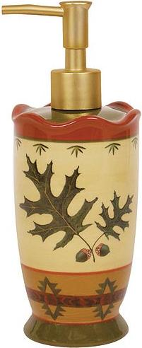 Oak Leaf  bathroom Soap/Lotion Dispenser Pump