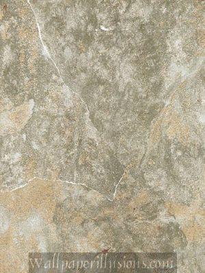 5807067 Hearthstone Fresco Green Paper Illusion Faux Finish Wallpaper