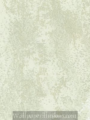 5807071 Roman Green Paper Illusion Faux Finish Wallpaper