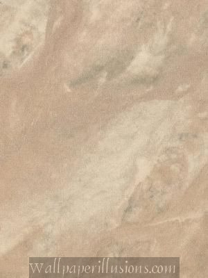 5813183 Travertine Carmel Paper Illusion Faux Finish Wallpaper