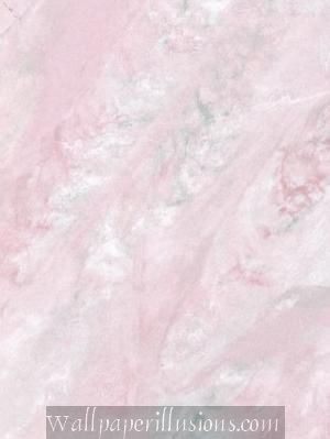 5813185 Travertine Powder Room Pink Paper Illusion Faux Finish Wallpaper