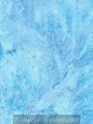 5815431 Hearthstone Aquamarine Paper Illusion Faux Finish Wallpaper