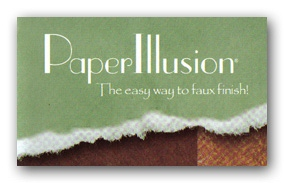 PaperIllusion� ~ The easy way to faux finish!