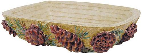 Pine Cone Lodge  bathroom Bathroom Soap Dish