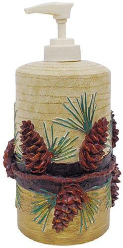Pine Cone Lodge Bathroom Accessories Gallery U003eu003e
