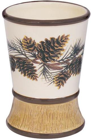Pine Lodges  bathroom Cup Tumbler
