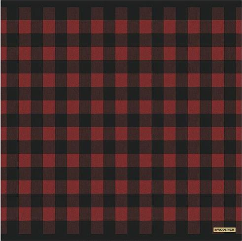 Red Plaid  bathroom Shower Curtain