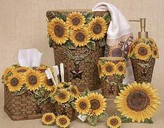 Genial Linda Spivey Sunflowers Decor Bathroom Vanity Accessories