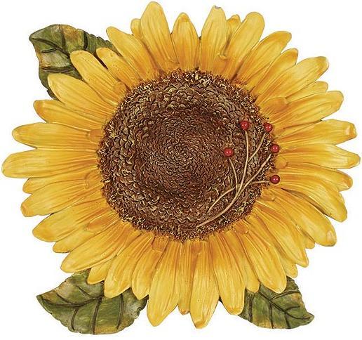 Linda Spivey Sunflowers Decor Bathroom Soap Dish