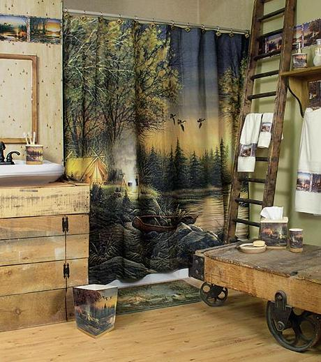 Terry Redlin bathroom accessories gallery