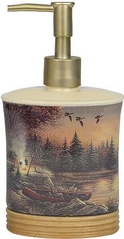 Terry Redlin  bathroom Soap/Lotion Dispenser Pump