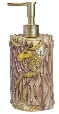 Wildlife  bathroom Soap/Lotion Dispenser Pump
