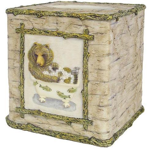 Wildlife  bathroom Tissue Box Holder